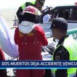 Chiclayo: 2 muertos deja acccidente vehicular