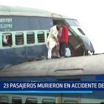 India: 23 pasajeros murieron en accidente de tren