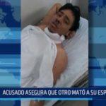 Chiclayo: Acusado asegura que otro mató a su esposa e hija