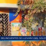 Manuel Arévalo: Delincuentes se llevan cinco mil soles de agente BCP