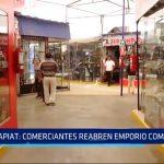 APIAT: Comerciantes reabren emporio comercial