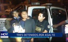 Trujillo: Tres detenidos por asalto en urbanización Los Granados