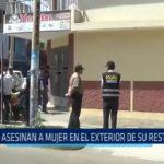 Asesinan a mujer en el exterior de su restaurante en la urbanización Palermo