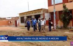 Ascope: Asfaltarán vía de ingreso a Mocan
