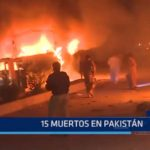 Pakistán: 15 muertos dejó atentado