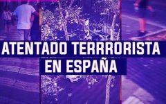 España: Fotografías tras atentado terrorista en Barcelona