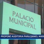 Elecciones Municipales: Propone auditoria para Daniel Marcelo