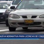Nueva normativa para licencias de conducir
