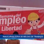 Trujillo: Gerencia Regional de Trabajo inaugura feria de bolsas de trabajo