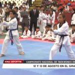 Campeonato Nacional de Taekwondo en Trujillo 12 y 13 de agosto
