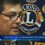 "Club de Leones de Trujillo: ""Festival de la Primavera no corre peligro"""