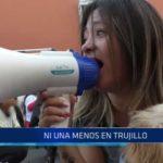 """Marcha """"Ni una menos"""" en Trujillo"""