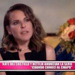 """Kate Del Castillo y Netflix anuncian la serie """"Cuando conocí al Chapo"""""""