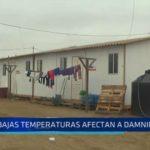 El Milagro: Bajas temperaturas afectan a damnificados