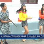 MPT: Alistan actividades por el Día Mundial del Folclore