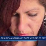 Mujer denuncia amenazas y exige medidas de protección