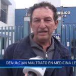 Trujillo: Denuncian maltrato en Medicina Legal