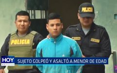 Moche: Sujeto golpeó y asaltó a menor de edad