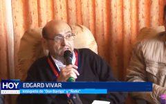 """Édgar Vivar: """"Señor Barriga"""" condecorado por la municipalidad de Víctor Larco"""