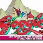 Elliot Túpac muestra cómo creó doodle de Google por Fiestas Patrias