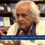 Trujillo: Partió poeta salaverrino, Arturo Corcuera