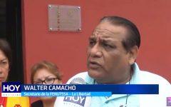 Trujillo: FENUTSSA acató paro de 48 horas