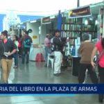 Trujillo: La Feria del Libro se realizará del 12 al 22 de noviembre en la Plaza Mayor