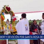 Moche: Sabor y devoción por Santa Rosa de Lima