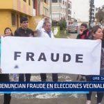 Trujillo: Denuncian elecciones vecinales
