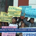 Trujillo: Denuncian fraude en elecciones vecinales