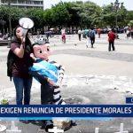 Guatemala: Exigen renuncia de presidente Morales