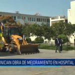 Inician obra de mejoramiento en Hospital Regional