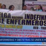 La Libertad: Enfermeras y obstetras se unen a la huelga