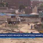 Damnificados invaden cementerio Mampuesto