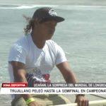 Joel Ucañán, la sorpresa del mundial de longboard en Huanchaco