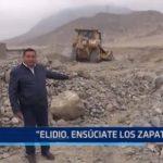 """Alcalde de Huanchaco: """"Elidio, ensúciate los zapatos"""""""