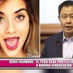 """Kenji Fujimori: """"El Perú debe proteger a Korina Rivadeneira"""""""