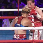 Linda Lecca retuvo por quinta vez su título mundial ante la boxeadora Karina Fernández