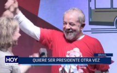 Brasil: Lula da Silva quiere ser presidente otra vez