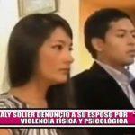 Magaly Solier denunció a su esposo por violencia física y psicológica