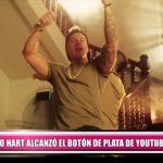 Mario Hart alcanzó el botón de plata de YouTube