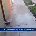 Extorsionan a suegro de futbolista Christian Cueva