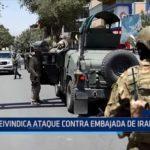 Afganistán: Reivindican ataque contra embajada de Irak