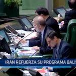 Irán refuerza su programa balístico