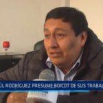 El Porvenir: Paúl Rodríguez presume boicot de sus trabajadores