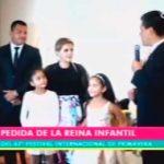 Pedida de reina infantil del 67° Festival Internacional de la Primavera