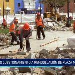 Trujillo: Otro cuestionamiento a remodelación de Plaza Mayor