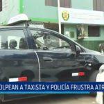 El Porvenir: Golpean a taxista y policía frusta atraco