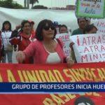 SUTEP: Grupo de profesores inicia huelga