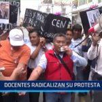 Piura: Docentes radicalizan su protesta